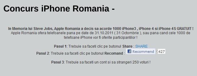 iphone gratuit