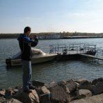 La pescuit pe bătrâna Dunăre