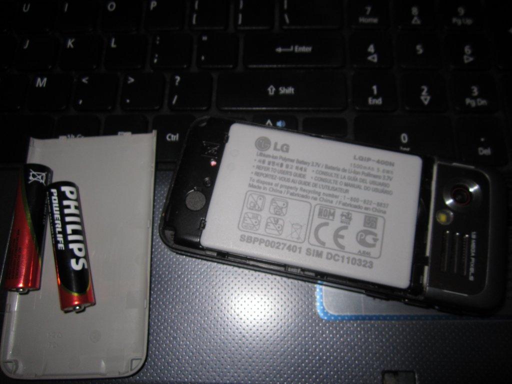 baterie mobil laptop