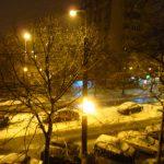 iarna in oras