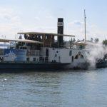 nava cu aburi fluviala