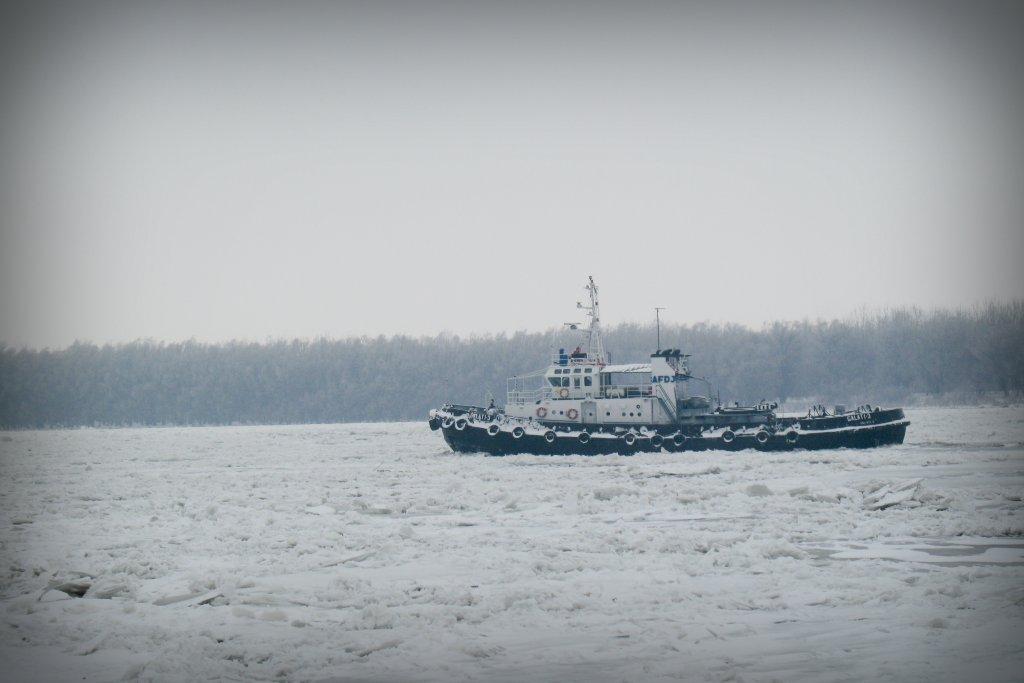 imagine 2012 iarna Dunare