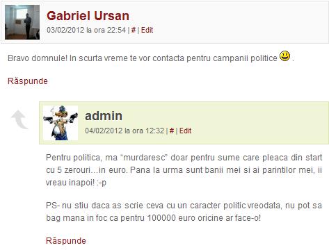 campanie politica online