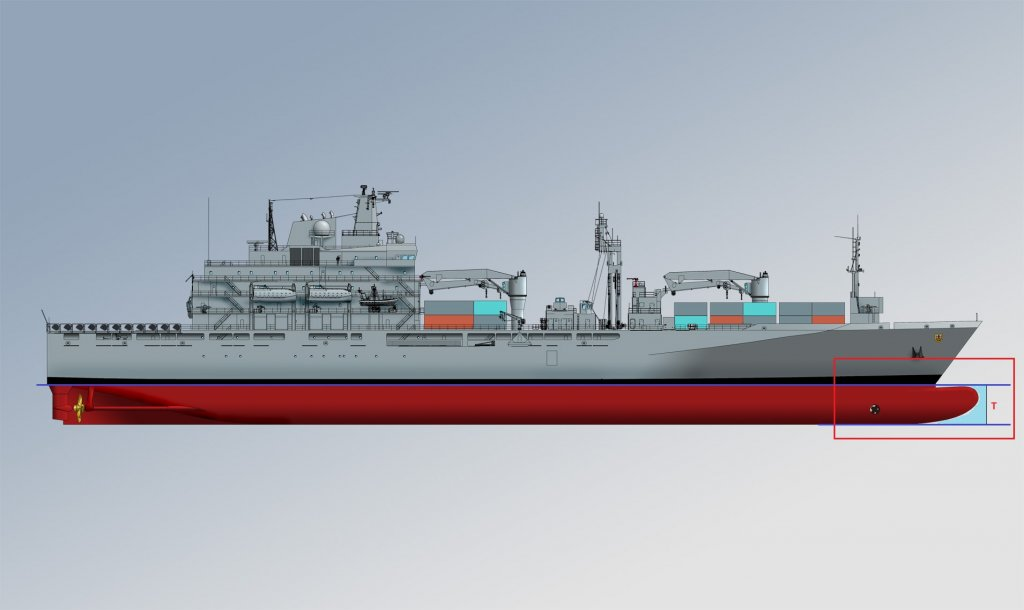 draft ship