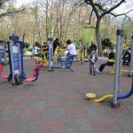 aparate de miscare in parcul cismigiu