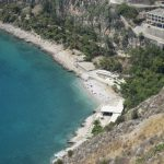 Beach in Nafplio Greece