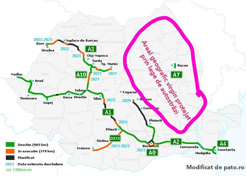 Nu vrem autostrăzi în Moldova! E de ajuns A7 pentru liniuțe!